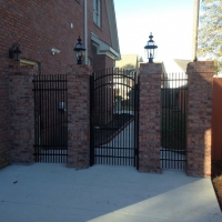 brick-column-fence-fayetteville-1