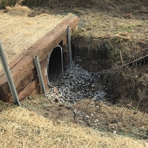 Culvert Installation In Goldsboro Nc By Ground Pounders Landscaping