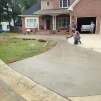 Fayetteville New Circle Driveway