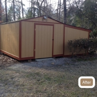 Fayetteville Shed Repair